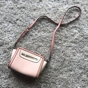 Pink Color Block Purse